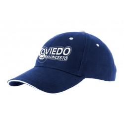 gorra bordada Oviedo Baloncesto