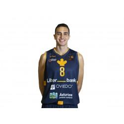 camiseta LEB oro Oviedo Baloncesto 18/19