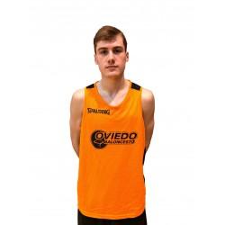 Camiseta Reversible Entrenamiento Oviedo Baloncesto