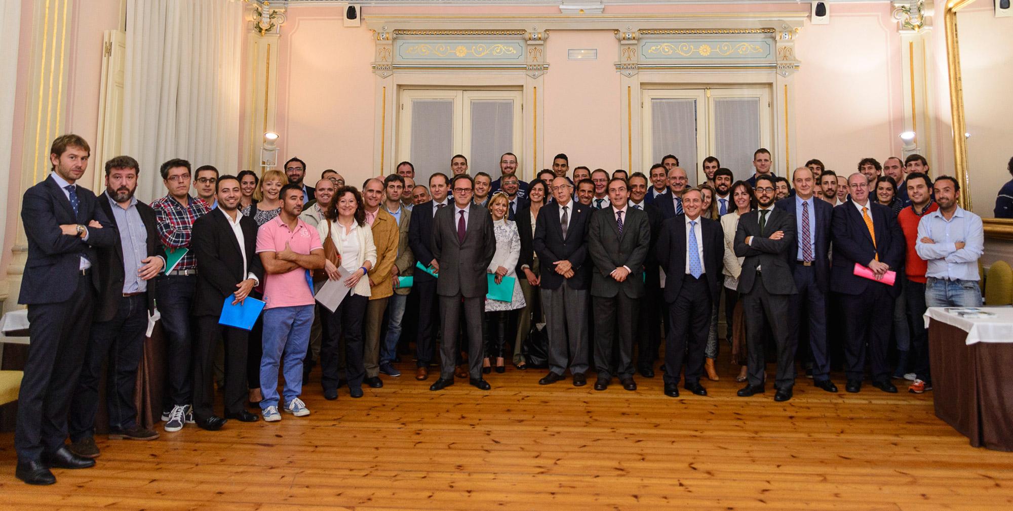 Presentación del Club de Empresas OCB 14-15 en Las Caldas Villa Termal