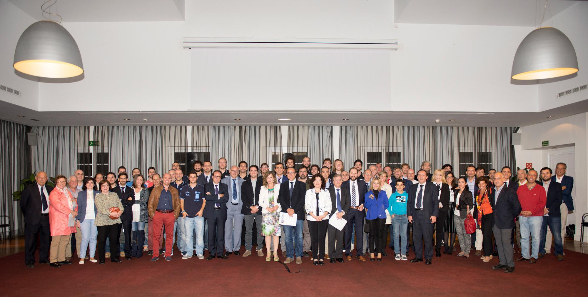 Presentación de la plantilla 2015-2016 al Club de Empresas en Las Caldas Villa Termal