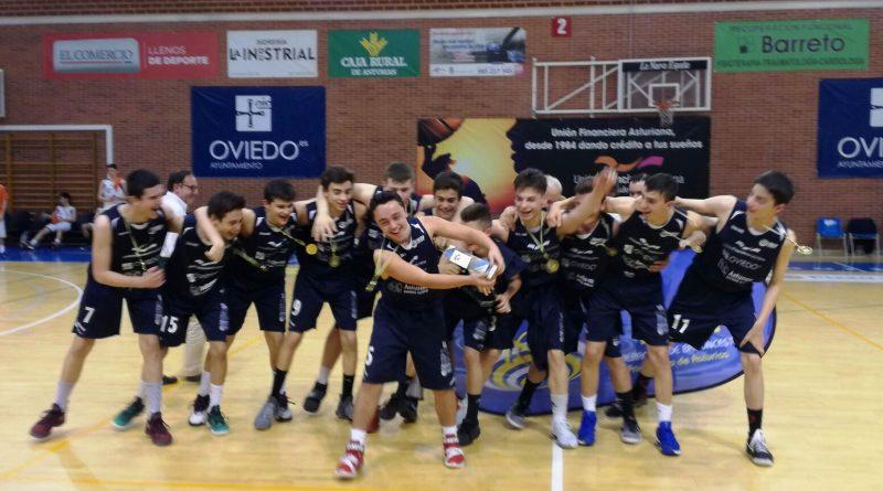 Cadete campeon de asturias