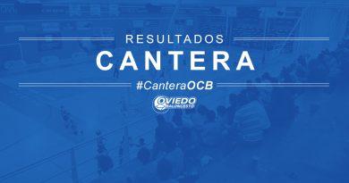 RESULTADOS DE CANTERA: 14 Y 15 DE OCTUBRE