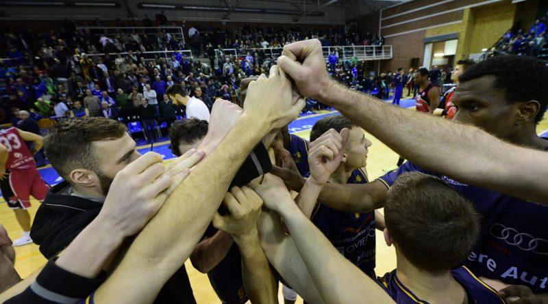 Unión Financiera Baloncesto Oviedo-CRC Valladolid