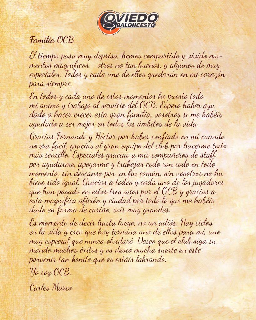 Carta Carles