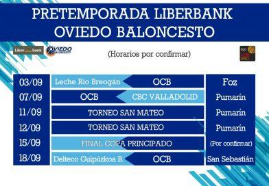 PARTIDOS DE PRETEMPORADA DEL LIBERBANK OVIEDO BALONCESTO