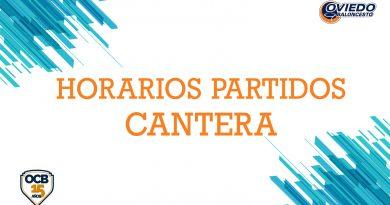 HORARIOS PARTIDOS SEMANA DEL 17 AL 23 DE FEBRERO