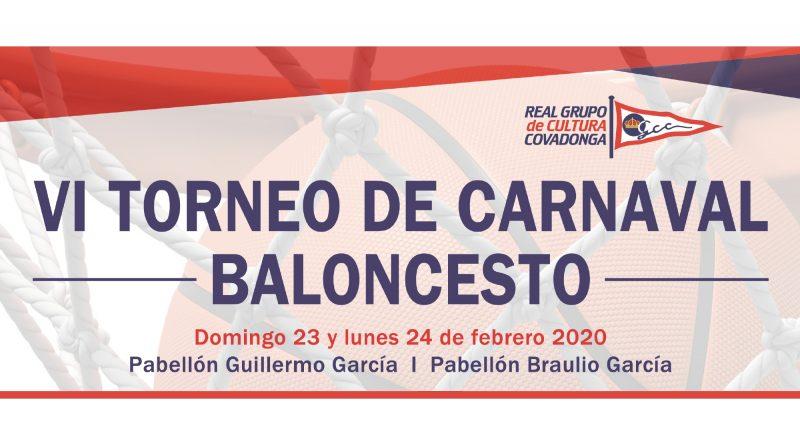 """LOS EQUIPOS """"MINI"""" DEL LIBERBANK OVIEDO BALONCESTO PARTICIPARÁN EN EL VI TORNEO DE CARNAVAL DEL REAL GRUPO DE CULTURA COVADONGA"""