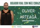 """OLIVER ARTEAGA, ELEGIDO """"JUGADOR RIAL CON MÁS CORAZÓN"""" POR LA AFICIÓN"""