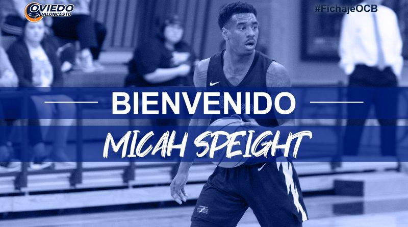 MICAH SPEIGHT, NUEVA PIEZA PARA EL LIBERBANK OVIEDO BALONCESTO