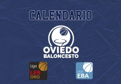 CALENDARIO PARA LA TEMPORADA 21/22 DEL LIBERBANK OVIEDO BALONCESTO